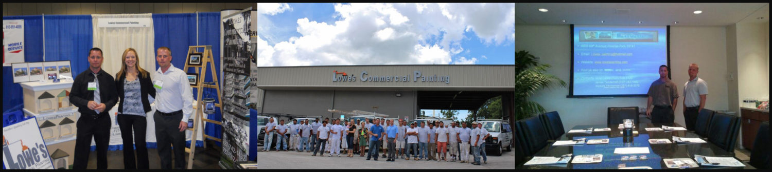 About Lowes Commercial Painting